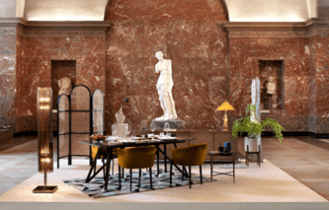 パリのルーブル美術館で宿泊イベント開催