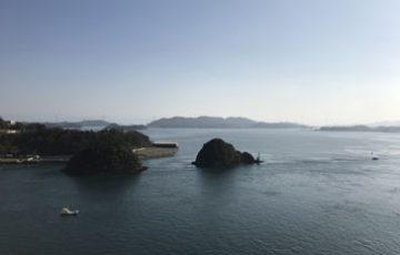 維和島の民泊施設や漁村にイタリアの記者をご招待